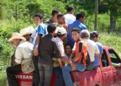 Honduras Men Travel to Teaching
